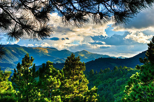 Mountain Breezes by Helene Kobelnyk