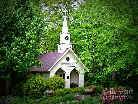 Mountain Chapel by Crystal Joy Photography