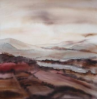 Mountain dawn by Hazel Millington