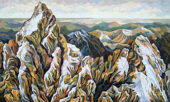 Mountain by Elizabeth Elkin