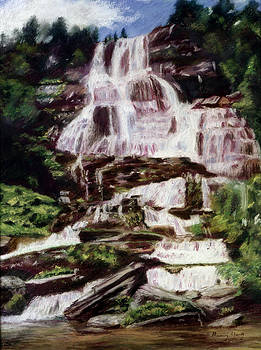 Mountain Falls by Nancy Yang