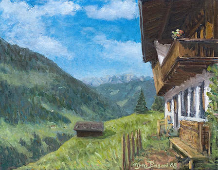 Mountain farm in Austria by Marco Busoni
