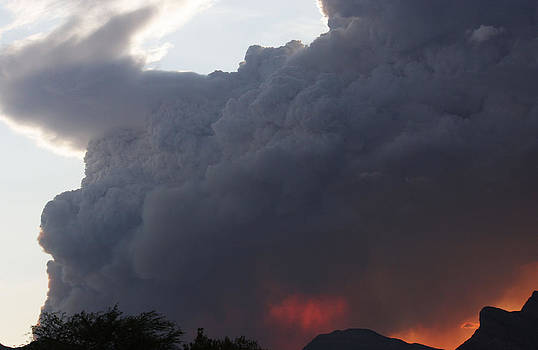 Mountain Fire by Dennis Galloway