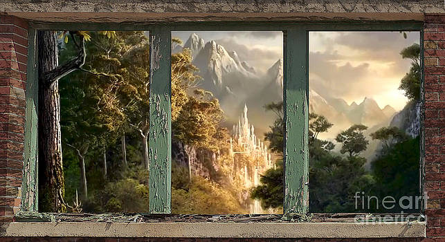 Mountain Fog Window Show by Heinz G Mielke