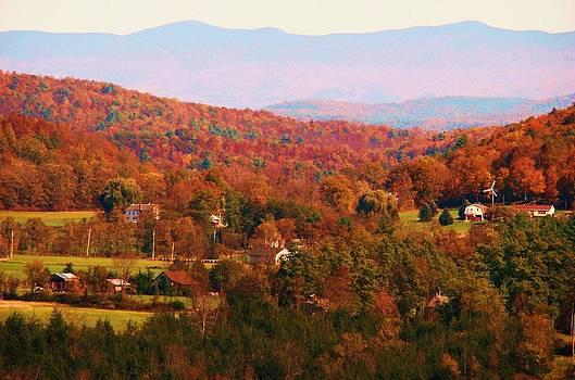 Mountain Foliage Series 035 by Van Ness