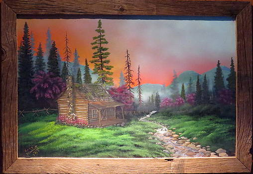 Mountain Hideout by Greg Neubert