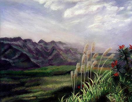 Mountain Horizon by Nancy Yang