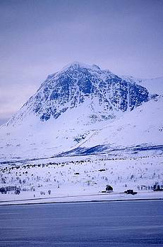 Mountain In Norway by Thomas D McManus