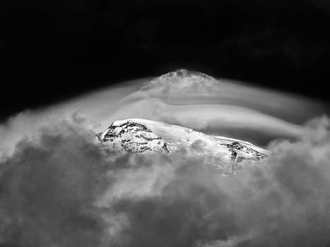 Mountain in the Clouds by Mark Rainer