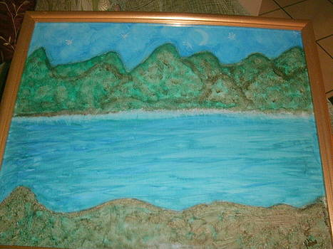 Mountain In The Ocean by Ketina Winston