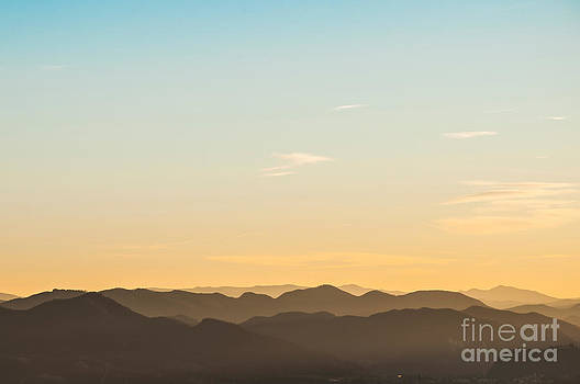 Mountain Layers by Luis Alvarenga