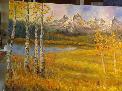 Mountain Magesty by Ann Arensmeyer