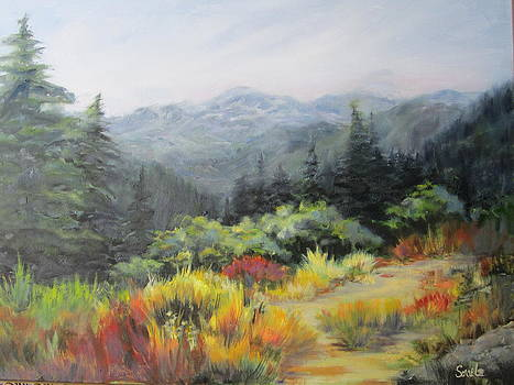Mountain Meadow by Sharon Sorrels
