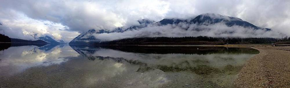 Mountain Mists Panoramic - Golden Ears Prov. Park, British Columbia by Ian Mcadie