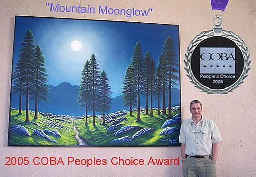 Frank Wilson - Mountain Moonglow Mural
