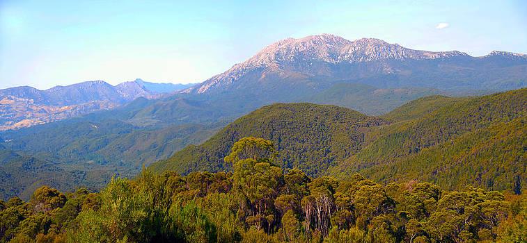 Mountain Range by Glen Johnson