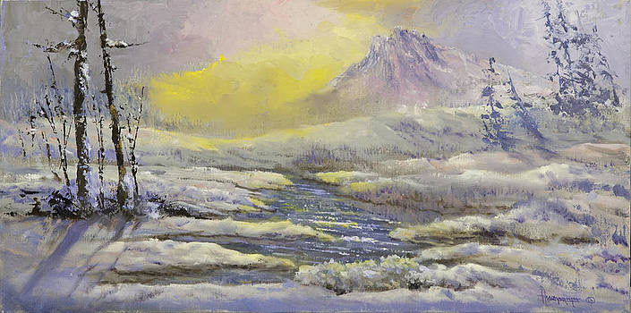 Mountain River by Ann Arensmeyer