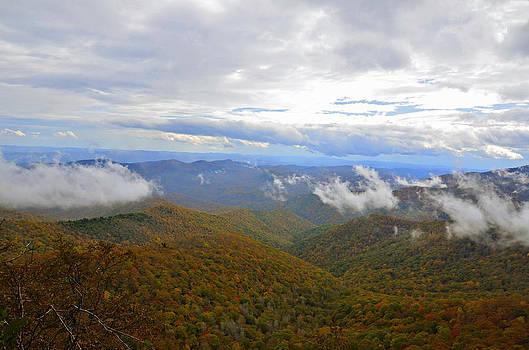 Mountain Seasons by Susan Leggett