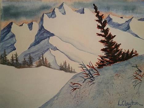 Mountain Slopes by Lynette Clayton