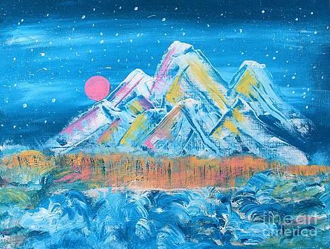 Mountain Snow  by AR Annahita
