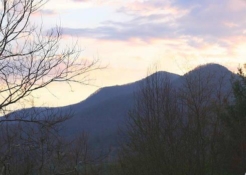 Mountain Sunset Eight by Paula Tohline Calhoun
