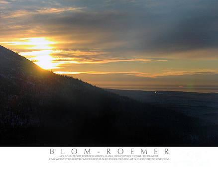 Mountain Sunset by Kimberly Blom-Roemer