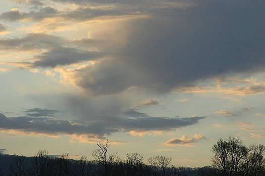 Mountain Sunset Six by Paula Tohline Calhoun