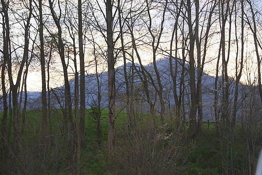 Mountain Sunset Ten by Paula Tohline Calhoun