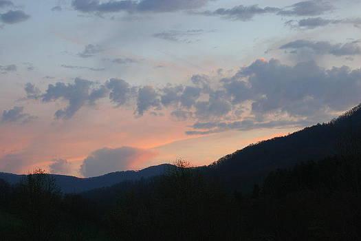 Mountain Sunset Twelve by Paula Tohline Calhoun