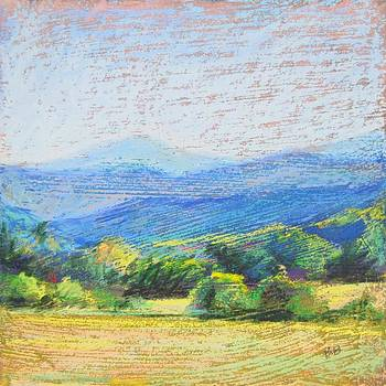 Mountain View II by Bethany Bryant