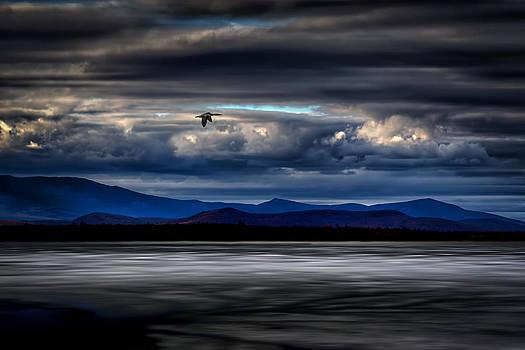 Mountain View - Mt. Katahdin by Gary Smith