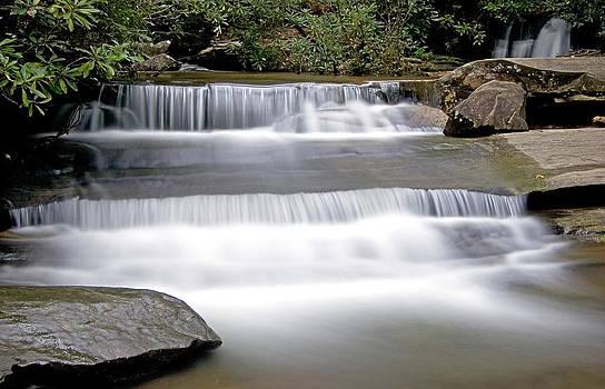 Mountain Waterfall by David Palmer
