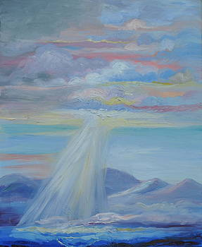 Mountains Above the Sea by Patricia Kimsey Bollinger