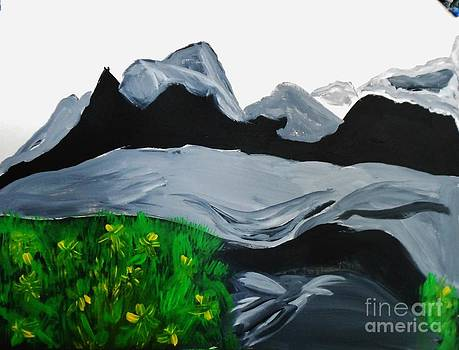 Mountains And Shadows by Marie Bulger