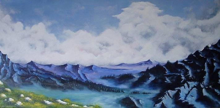 Mountains by Danas Zymonas
