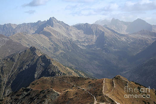 Mountains landscape by Joanna Cieslinska