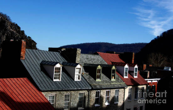 Mountains of Rooftops  by Steven Digman