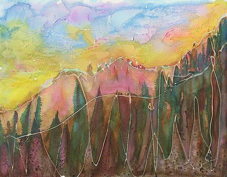 Mountains on my mind by Tatyana Seamon
