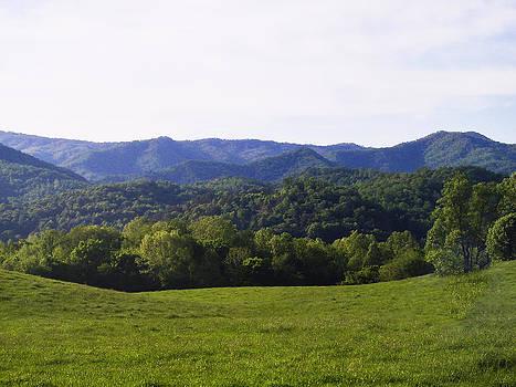 Mountains Valleys Hills by Robert J Andler