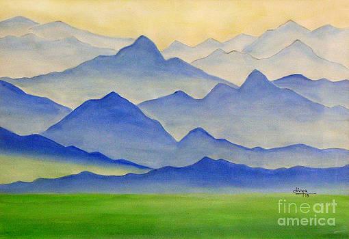 Mountainscape by Divya Kakkar