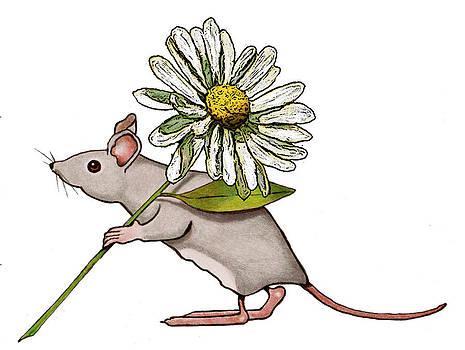 Joyce Geleynse - Mouse With A Daisy