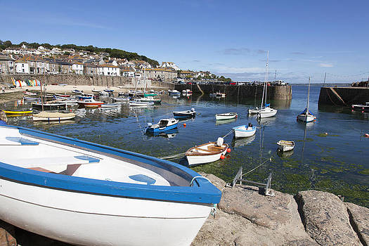 Mousehole Harbour by Mark Richardson