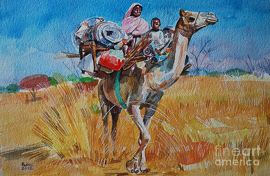 Movement of pastoralists by Mohamed Fadul