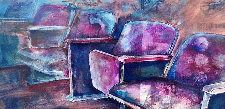 Movie Theater Memories by Barbara  Rhodes