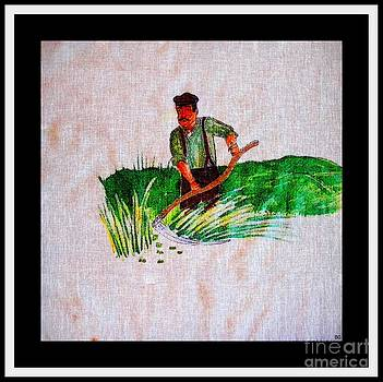 Barbara Griffin - Mowing Hay