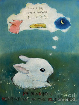 Mr Bunbuns Thinks Deeply by Jan Little