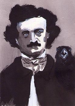 Mr. Edgar A. Poe by Clauser Oliboni