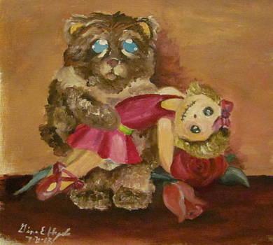 Mr. Fluffy Found A Dance Partner by Gina Hyde