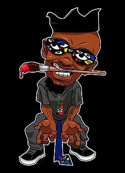Mr Idia Cartoon by Kamoni Khem