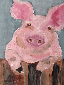 Mr Piglet by Susan Voidets